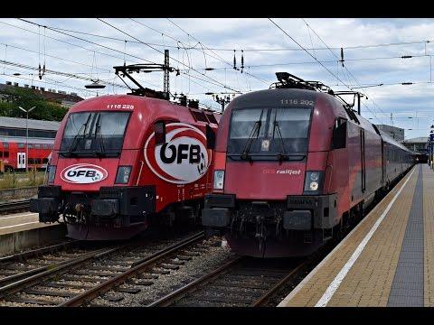Züge Wien Westbahnhof, 28.7.2015