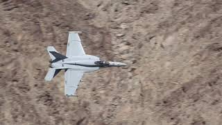 F-18 A-10 F-35 Low Level Canyon Flying