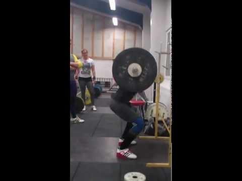 Christian Madsen 131kg squat