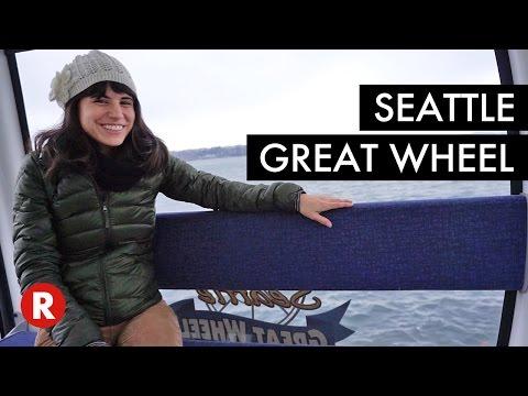 Step Inside The Seattle Great Wheel // Seattle, WA