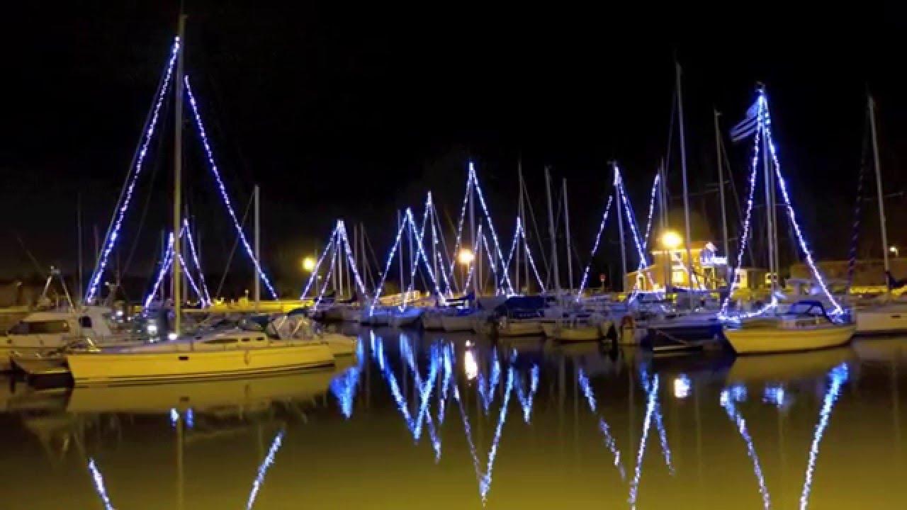 Illuminations port de meschers sur gironde 2015 youtube - Port de meschers ...
