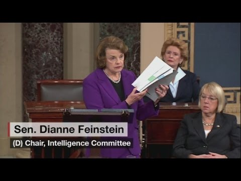 Sen. Dianne Feinstein talks intel report on Senate floor