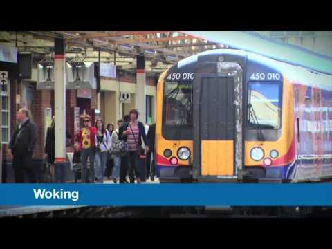 South West Trains National Station Improvement Programme CGI