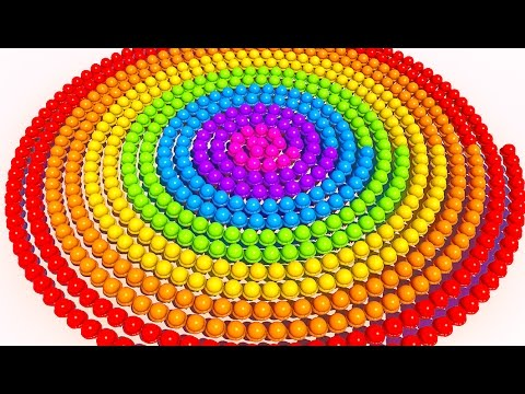 Thumbnail: A lot of 3D Spiral Ice Cream to Learning Colors for Children and Kids