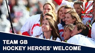 team gb hockey heroes return