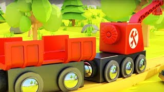 Мультфильмы - Остров Поездов - Авария на железной дороге
