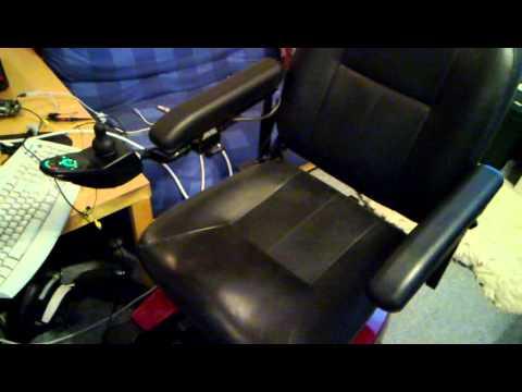 904s ranger power chair how to change brake