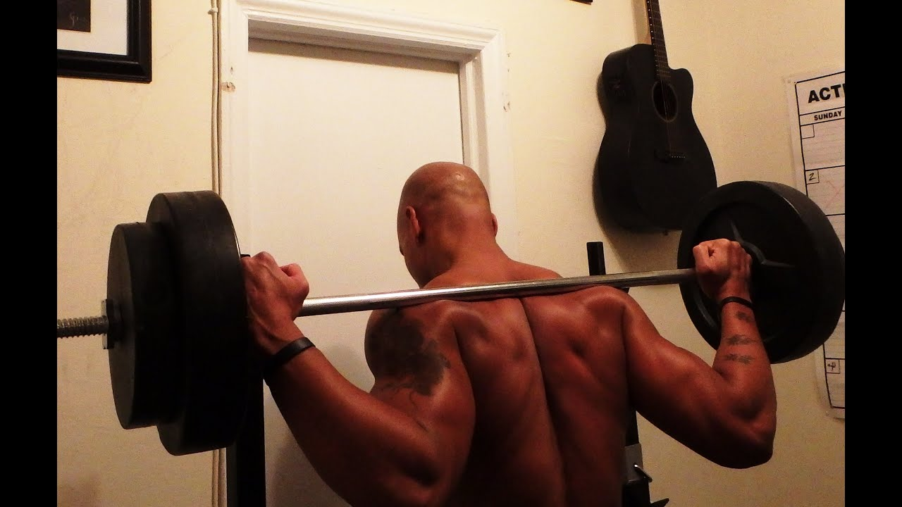 gym way the pin and all squat up out space saving collapsible rack of folded