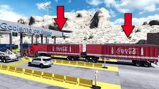 Asi luce La Rumorosa ahora, Kenworth T800 Transportando refrescos | Mexico | American Truck