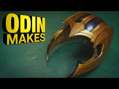 Odin Makes: The helmet of Thanos from Avengers: Infinity War and Endgame