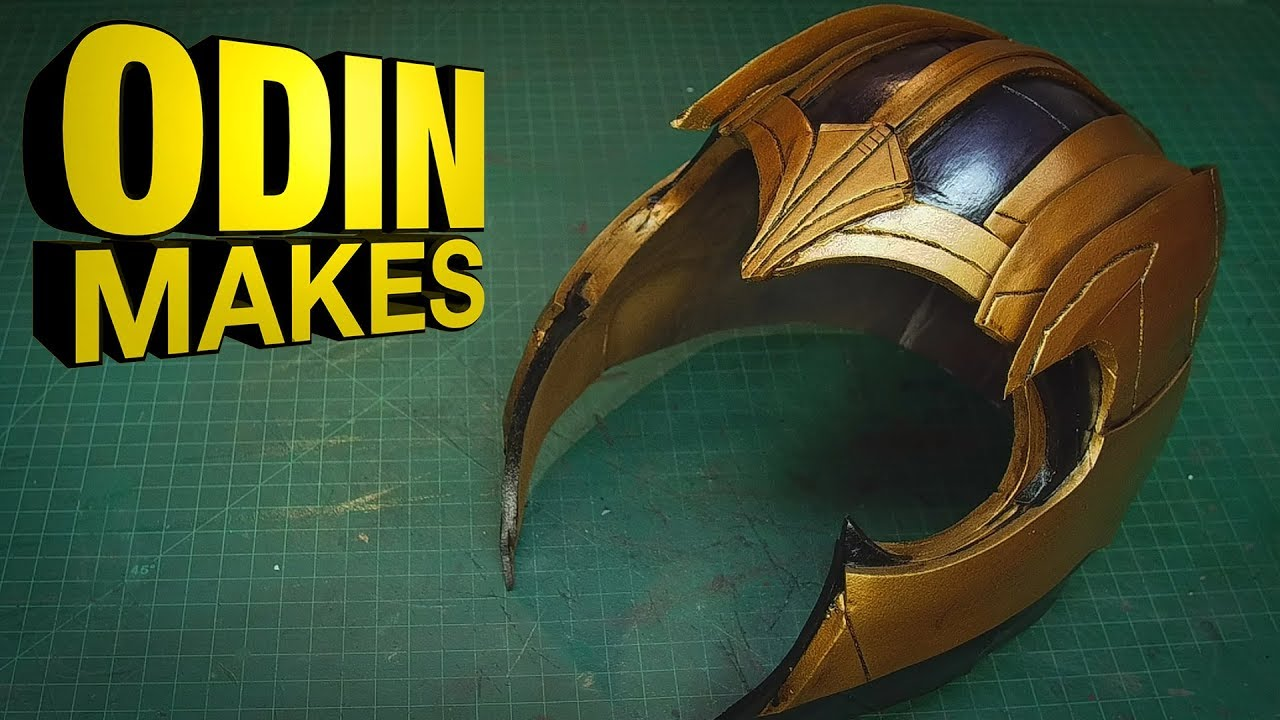 Odin Makes: The helmet of Thanos from Avengers: Infinity War and Endgame #1