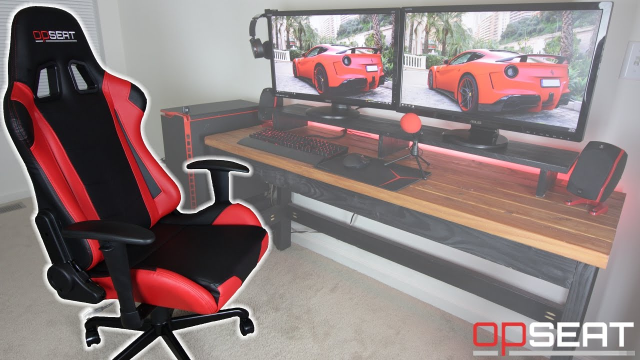 Gaming Chair Reviews 2016 Outdoor Wicker Dining Chairs Opseat Review The Best For Money 2017 Youtube