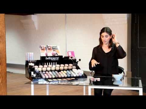 Bellapierre Cosmetics Mineral Eyeshadow How-To With Lily Pebbles - Clothes Show TV