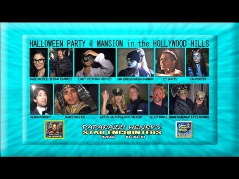 HALLOWEEN PARTY IN HOLLYWOOD HILLS H2665