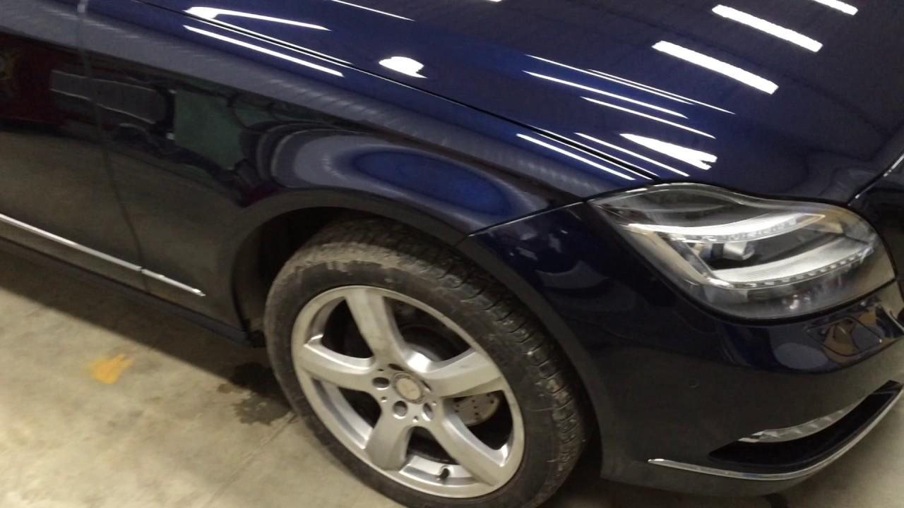 W218 CLS кузовной ремонт и защитное покрытие