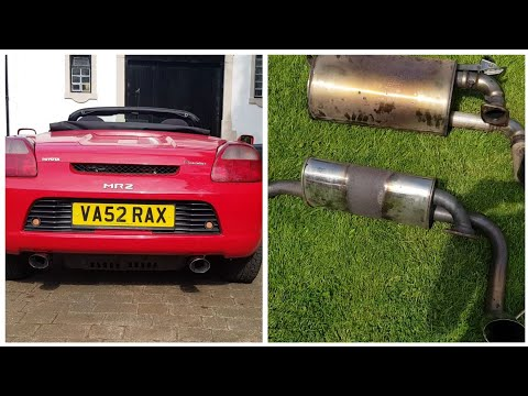 MR2 Roadster (Spyder): POWERFLOW Exhaust *LOUD*