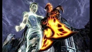GOD OF WAR - How Kratos got his BLADES OF EXILE? (God of War 3 best moments)