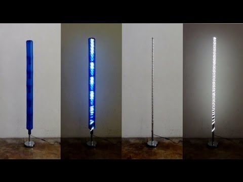 Còmo realizar una lámpara con botellas de plástico recicladas y un ...
