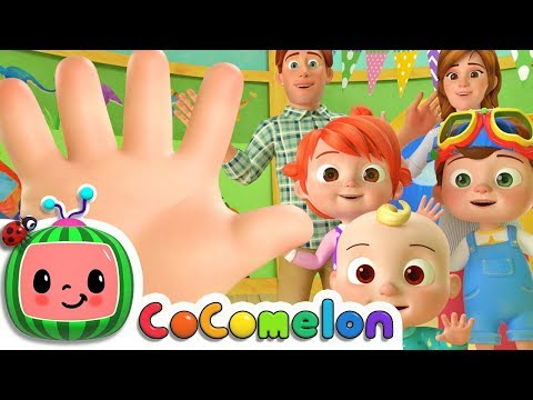 Finger Family | CoCoMelon Nursery Rhymes & Kids Songs