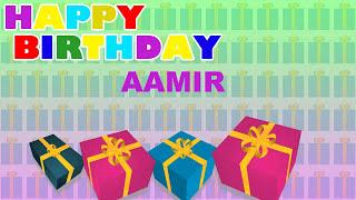 Aamir - Card Tarjeta_1909 - Happy Birthday