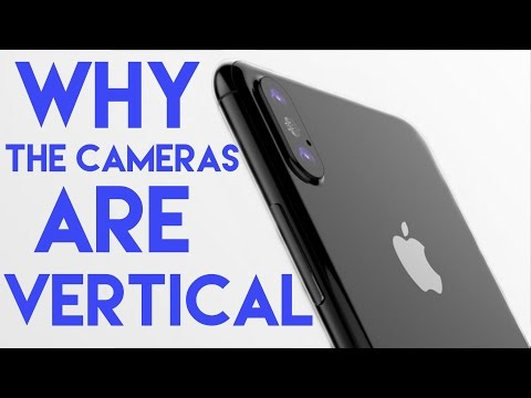Here's why the iPhone 8's cameras are vertical