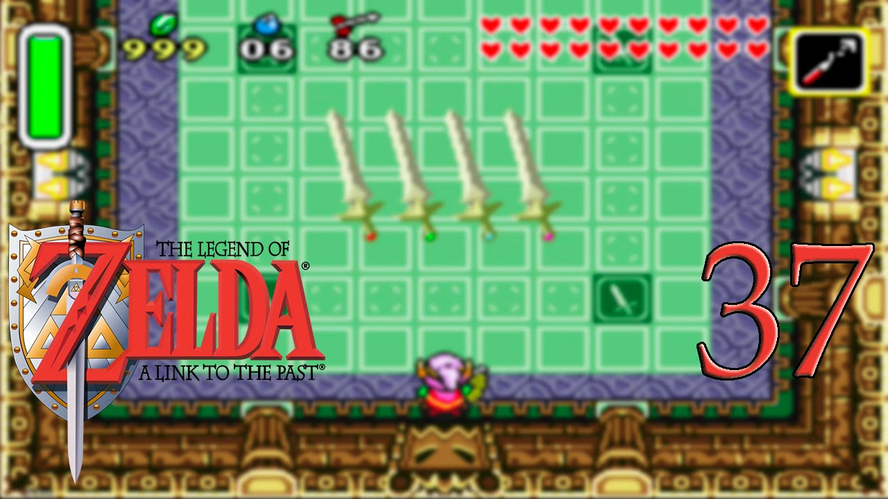 Zelda: A Link to the past #37 - Palacio de las 4 espadas (1/3) - Gameplay comentado
