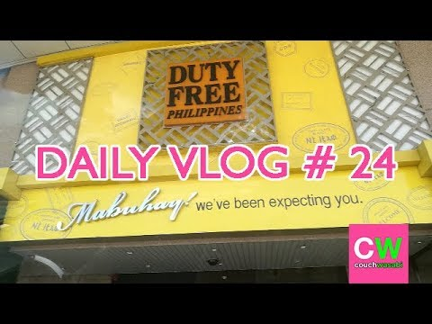 Checking out Duty Free Philippines (DAILY VLOG # 24) | couchwasabi