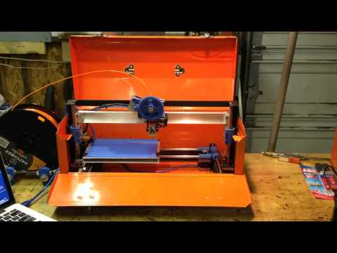 Design Engineer Converts a Vintage Tool Box into a Working