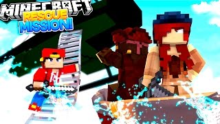 Minecraft Adventure - RESCUE MISSION FOR THE US NAVY!!