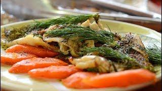 Запеченная рыба быстро и вкусно