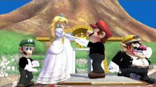 Mario and Peach's wedding