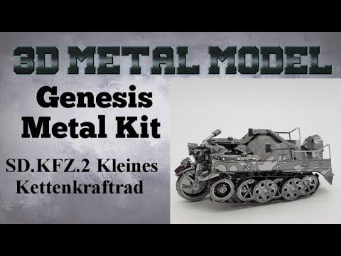 Genesis Metal Model Build - SD.KFZ.2 Kleines Kettenkraftrad