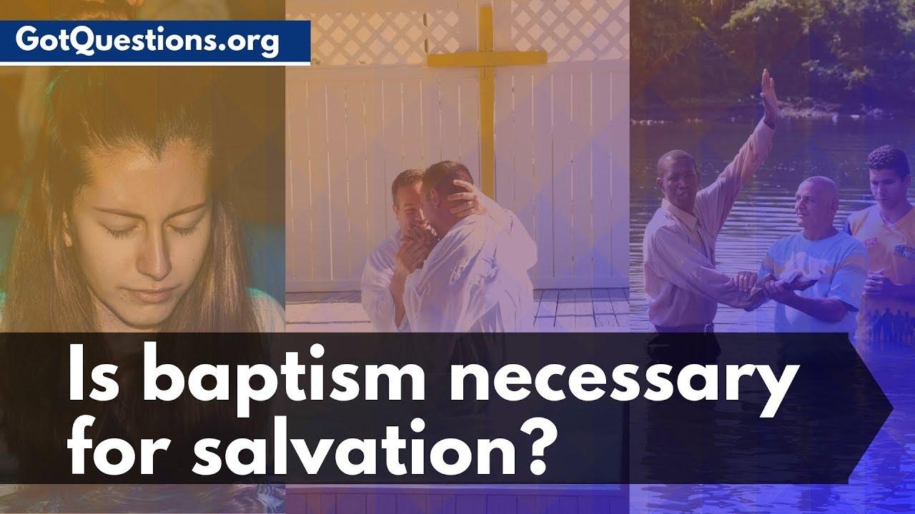 Got questions baptism