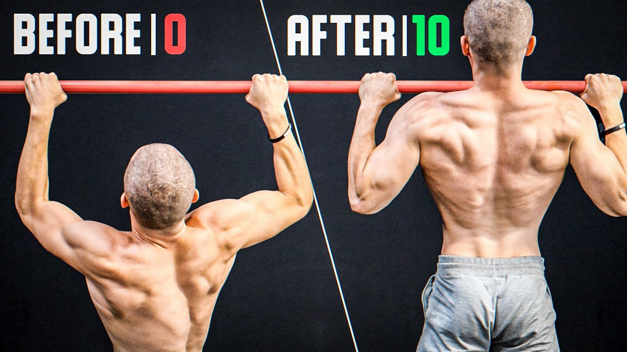 Can't Do 10 Pull Ups? Start Doing THIS (30 Days Results)