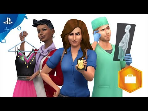 The Sims 4 Get To Work - Official Trailer | PS4