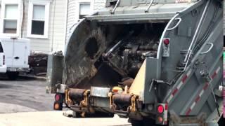 EZ Disposal & Recycling R-201 ~ Mack LE Leach 2RII Packmaster Rear Loader