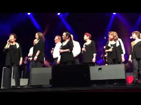 ים השיבולים - להקת הגבעטרון בהופעה
