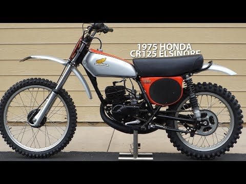 1975 Honda CR125 Elsinore - Tom White's Museum