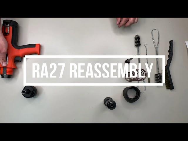Ramset RA27 Cleaning Tutorial