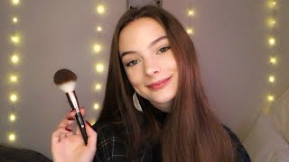 ASMR Friend Does Your Makeup For a Party : )   Soft Spoken