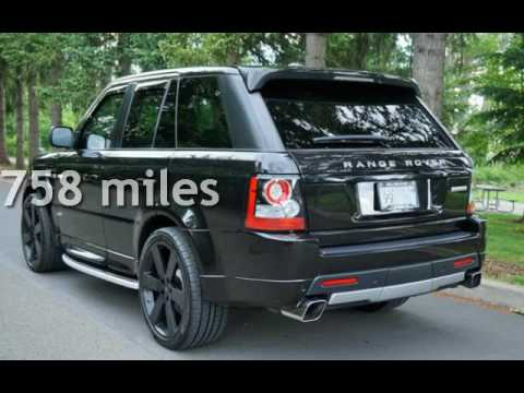 2013 land rover range rover sport supercharged for sale in. Black Bedroom Furniture Sets. Home Design Ideas