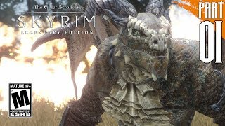 【SKYRIM 200+ MODS】Argonian Gameplay Walkthrough Part 1 [PC - HD]