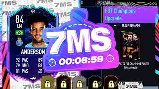 FUT CHAMPS UPGRADE PACK! 84 RTTF SBC FELIPE ANDERSON 7 MINUTE SQUAD BUILDER - FIFA 21 ULTIMATE TEAM