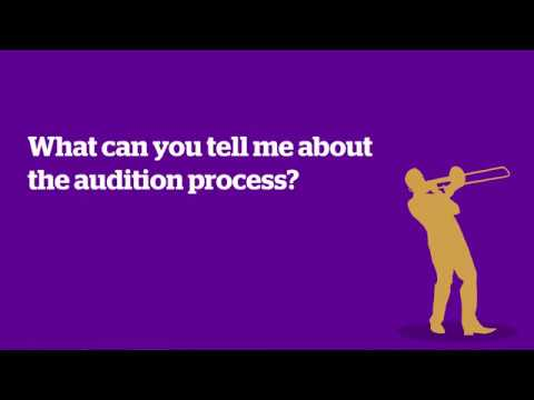 Auditioning for music courses at Anglia Ruskin University