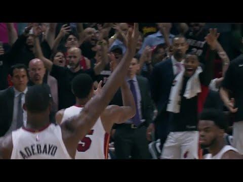 Jordan Mickey Hits Game-Winner in Final Seconds vs. Wizards