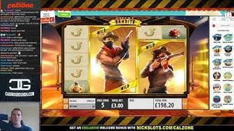 BIG WIN on Sticky Bandits Slot - £3 Bet
