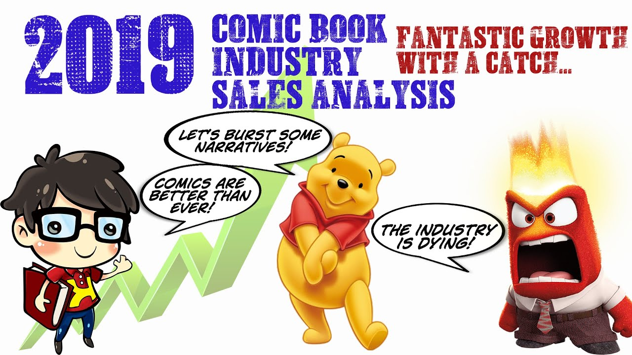 2019 Comic Book Industry SALES ANALYSIS with Perch