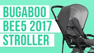 Repeat youtube video Bugaboo Bee 5 2017 Stroller | Reviews | Ratings | Prices | Magic Beans