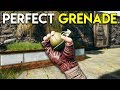 PERFECT GRENADE! - PUBG (PlayerUnknown's Battlegrounds) Sanhok Gameplay