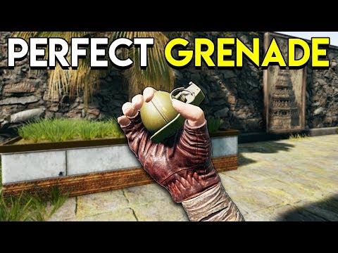 PERFECT GRENADE! - PUBG (PlayerUnknown's Battlegrounds) Sanhok Gameplay